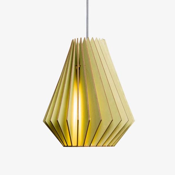 Lámpara Hektor de Iumi verde