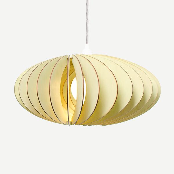 Lámpara Nefi de Iumi verde