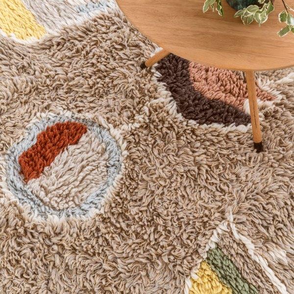alfombra lavable de lana modelos arizona de lorena canals