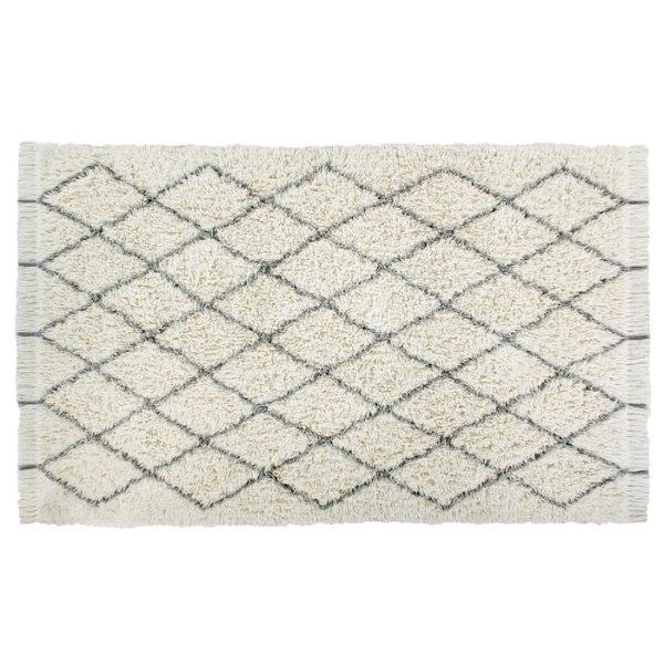 Alfombra de lana lavable Woolable Berber de Lorena Canals tamaño XL