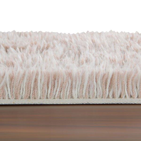 detalle Alfombra de lana lavable woolable Spring Spirit de Lorena Canals
