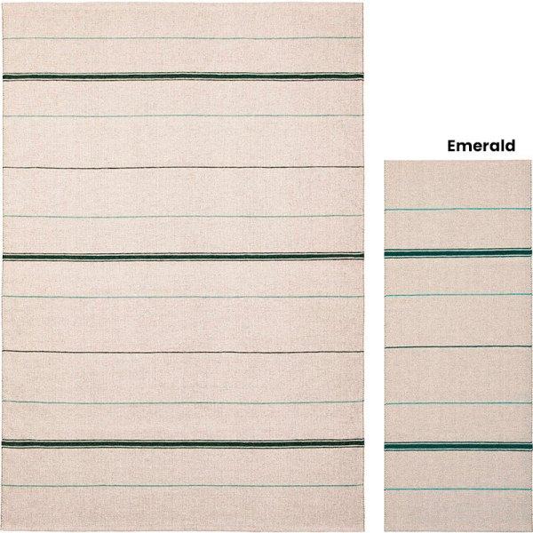 alfombra de plástico Trapezee Emerald de Brita Sweden