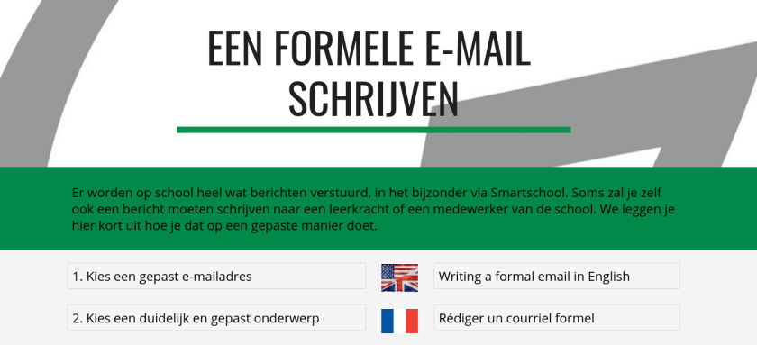 Formele mail