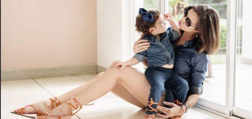 Adriana Dorn y su hija