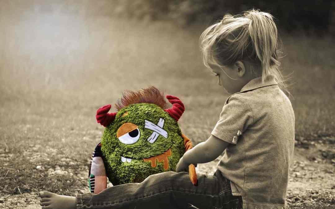 Meisje verdrietig