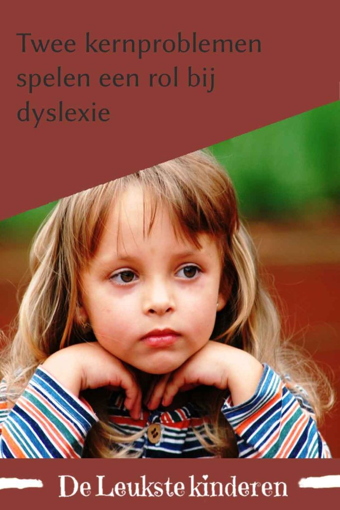 Kernproblemen Dyslexie