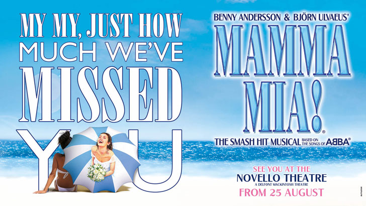 MAMMA MIA! - Book London theatre tickets direct with Delfont Mackintosh  Theatres