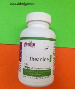 zenith l-theanine, delhiblogger