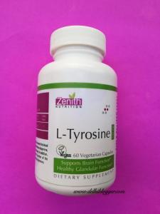 zenith l-tyrosine,health supplement,delhiblogger