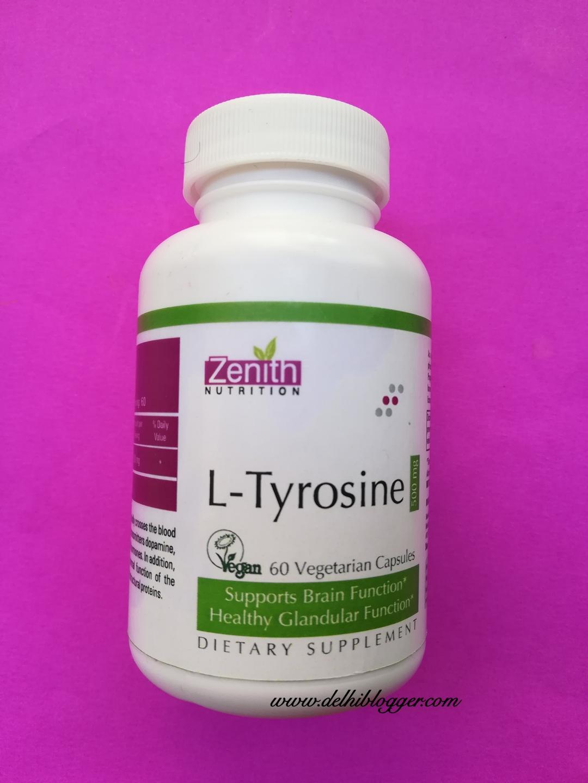 zenith L-Tyrosine,zenith health supplements,delhiblogger
