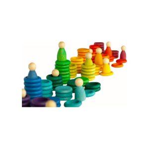 rainbow peg game