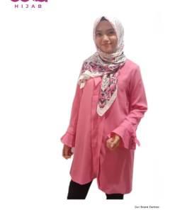 Baju Muslim Tunik Modern - Dauky M Tunic Nizena - Delia Hijab P