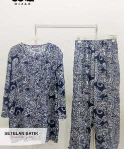 Homewear Set - Setelan Batik Tunik - Delia Hijab