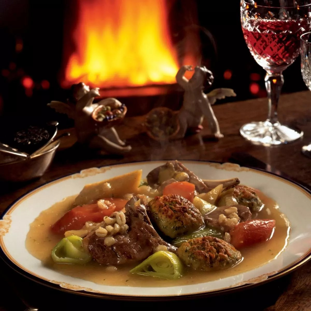 A Bit Of The Irish Stew With Crusted Dumplings Recipes