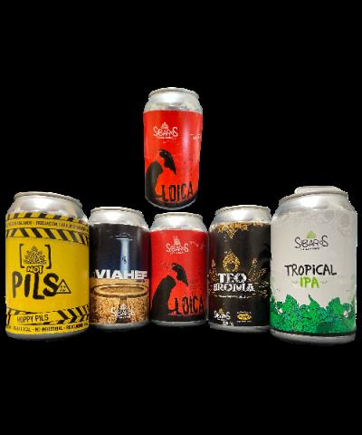 Pack Cervezas Artesanales de Viña del MarSíbaros de Viña del Mar