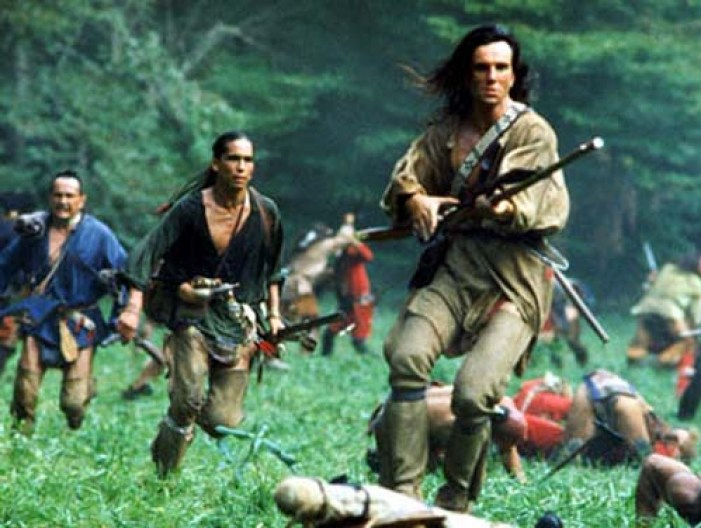 THE LAST OF THE MOHICANS, Daniel Day-Lewis, 1992, TM & Copyright (c) 20th Century Fox Film Corp. All rights reserved.