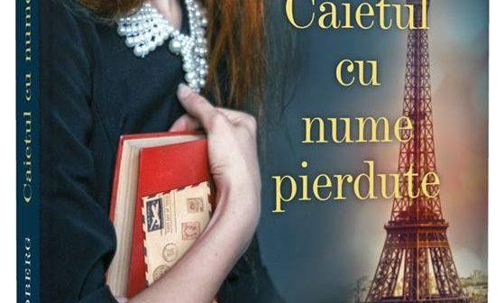 Caietul cu nume pierdute de Sofia Lundberg, Editura Litera, Colecția Blue Moon