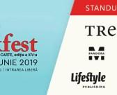 Editura Trei sărbătorește 25 de ani la Bookfest 2019!