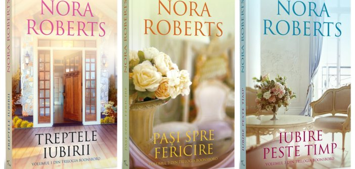 Trilogia Boonsboro (seria Hanul amintirilor) de Nora Roberts
