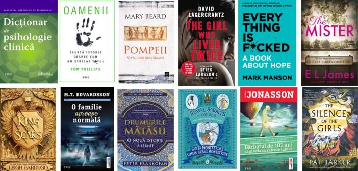 Editura Trei – titluri mult așteptate, autori îndrăgiți și serii spectaculoase în această toamnă!