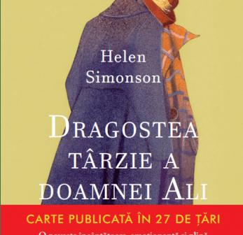 Dragostea târzie a doamnei Ali de Helen Simonson, Editura Litera, Colectia Blue Moon