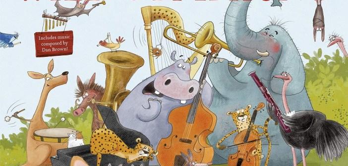Simfonia sălbatică (carte ilustrată pentru copii) de Dan Brown – se va lansa în septembrie la Editura RAO