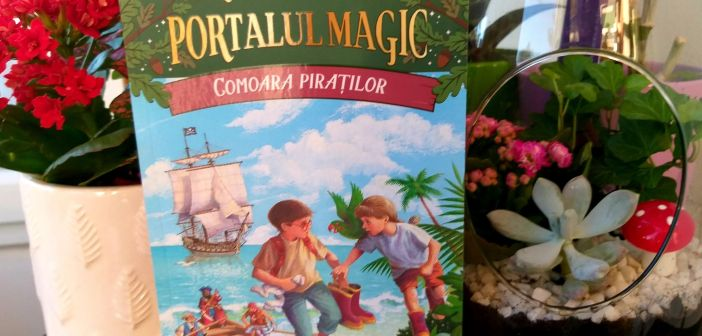 Comoara piraților. Portalul Magic nr. 4 de Mary Pope Osborne, Editura Paralela 45