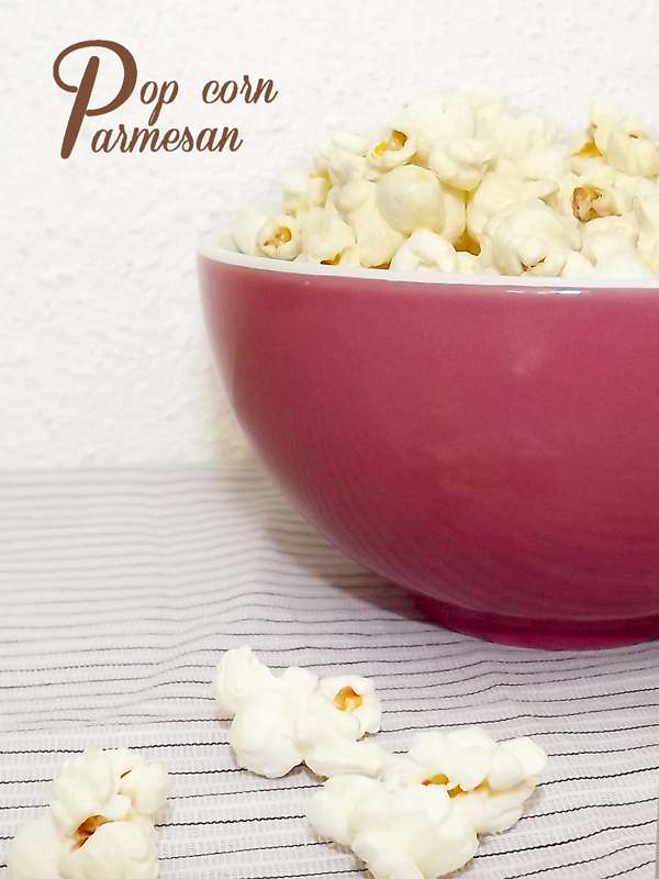 Pop-corn au parmesan