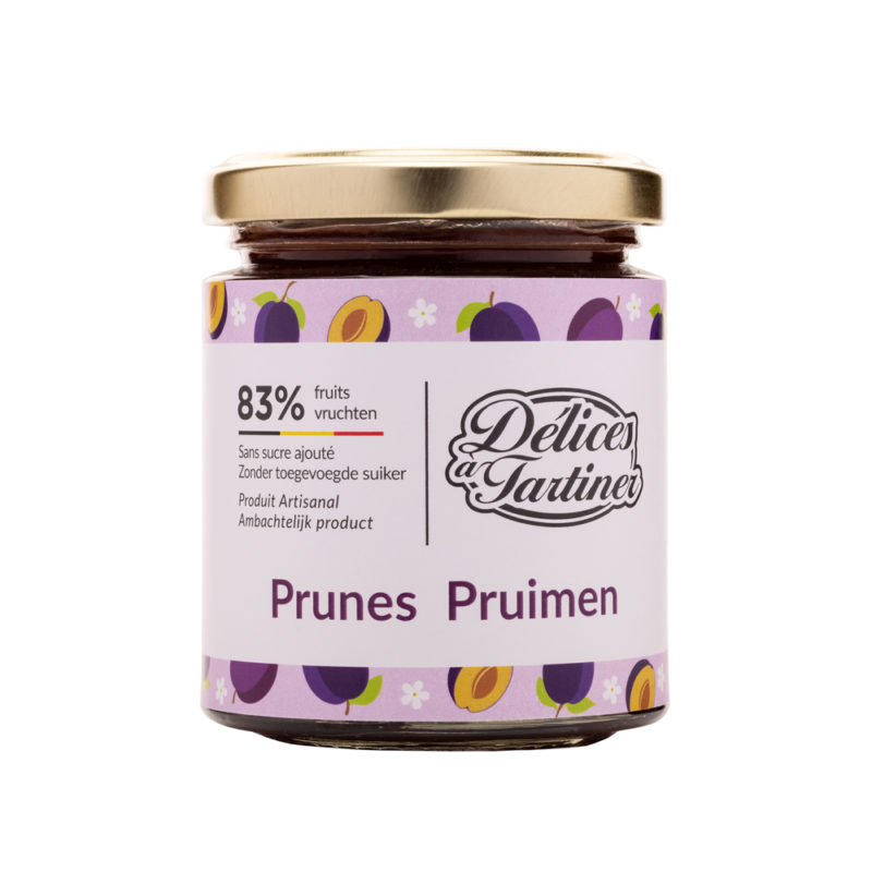 Confiture de Prunes Délices à Tartiner