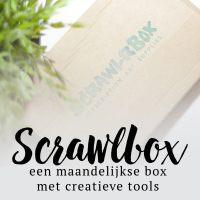 Scrawlrbox - Maandelijkse box met creatieve tools