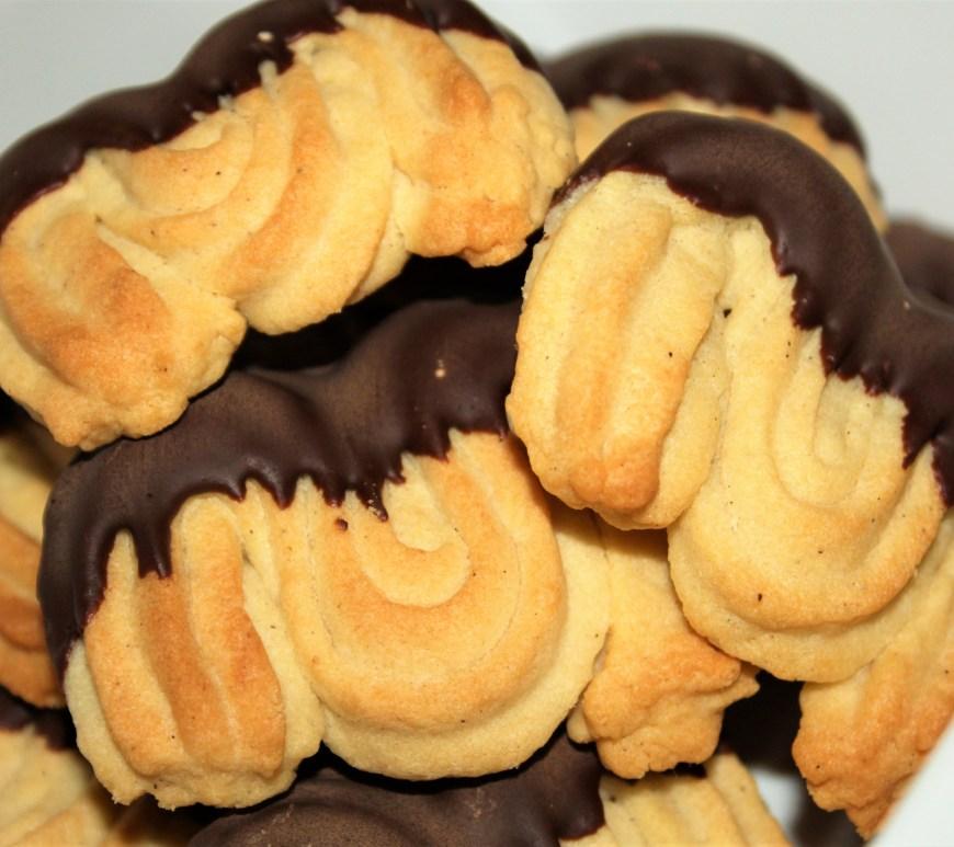 Délicimô ! - Recette des Biscuits Sablés Spritz Chocolat de Pierre Hermé - www.delicimo.fr