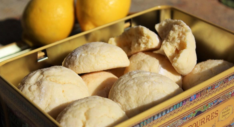 Craquelés au Citron