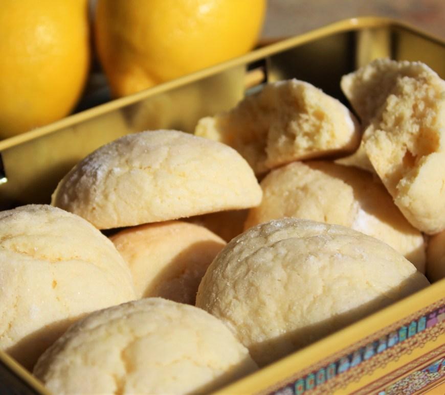 Délicimô ! - Recette des Craquelés au Citron de ma Grand-Mère - www.delicimo.fr