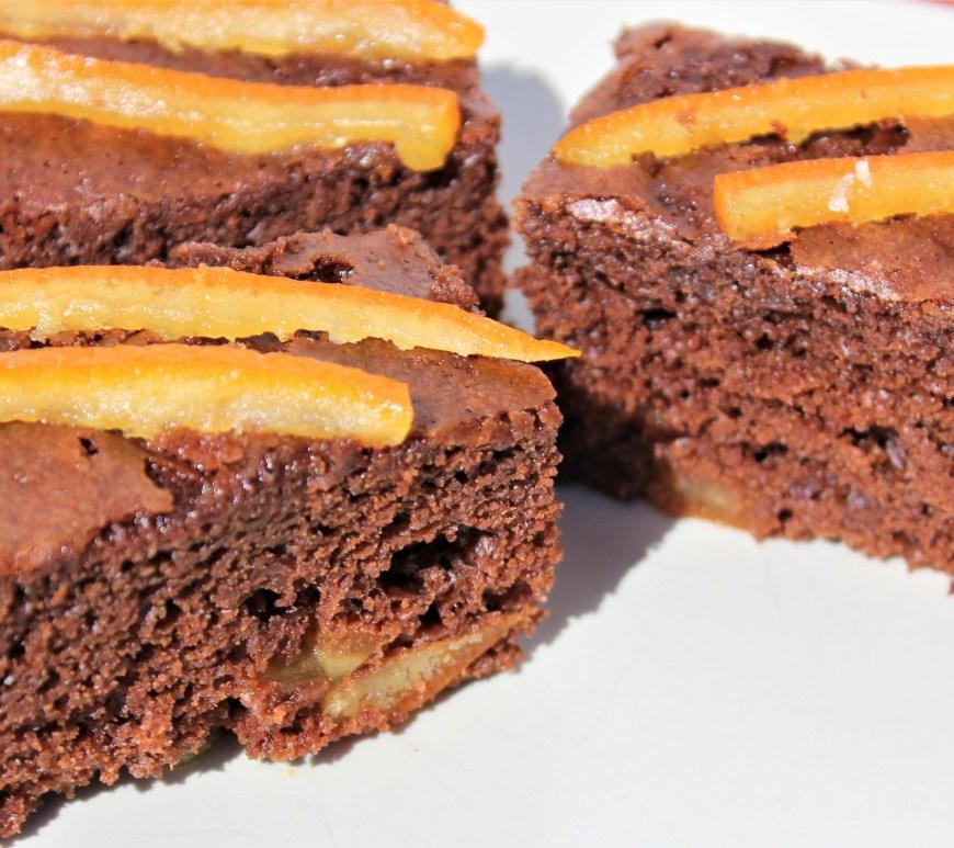Délicimô ! - Gâteau au Yaourt Ultra Moelleux : Chocolat et Oranges Confites - www.delicimo.fr