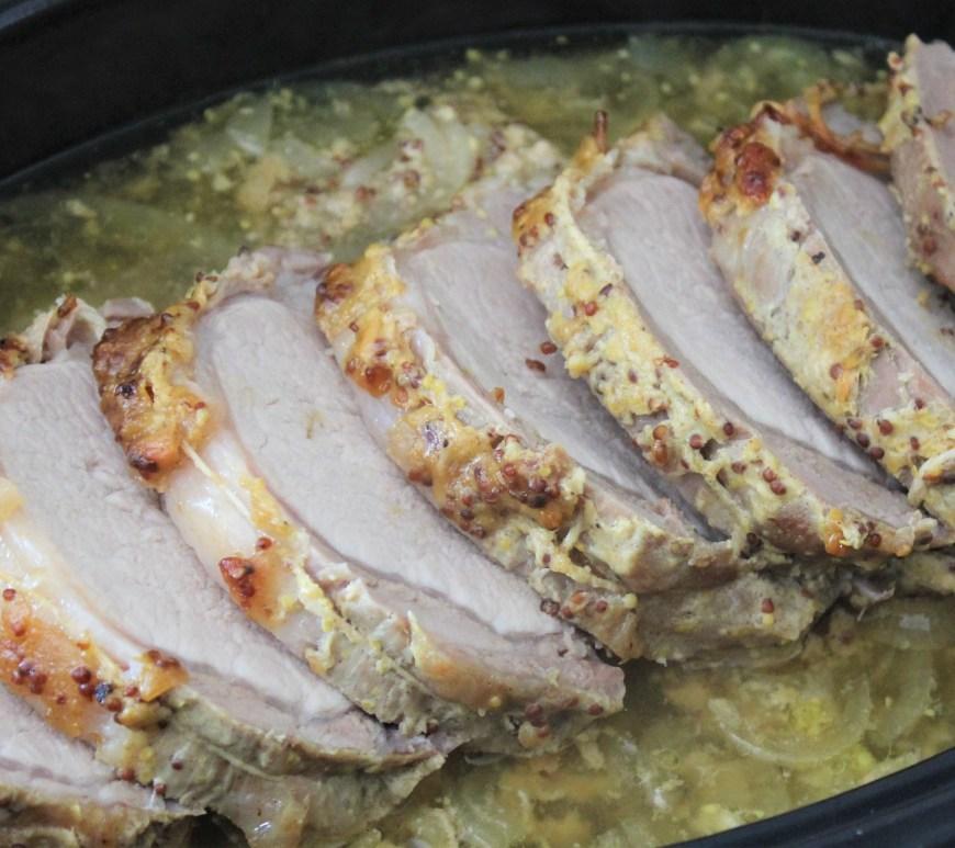 Délicimô ! - Recette Rôti de Porc ou Cochon à la Moutarde et Miel - www.delicimo.fr