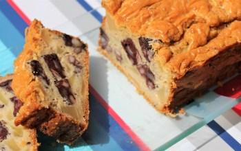Délicimô ! - Recette Cake au Boudin Noir et Pommes - www.delicimo.fr
