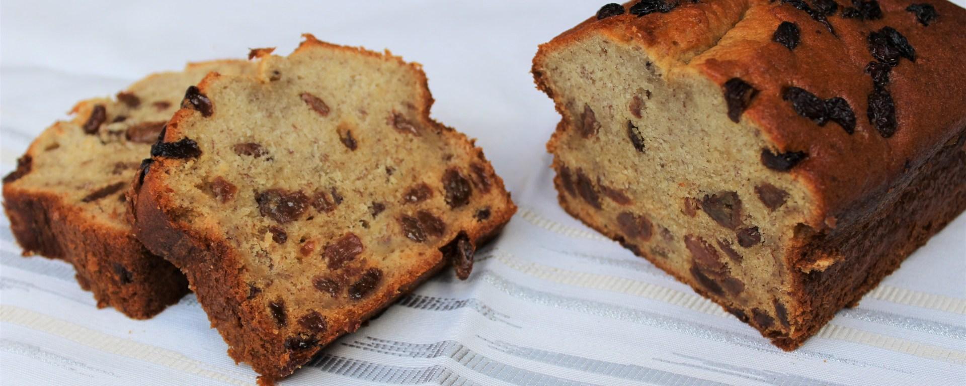 Délicimô ! - Recette Cake Gâteau Banane Raisin Sec Rhum - www.delicimo.fr