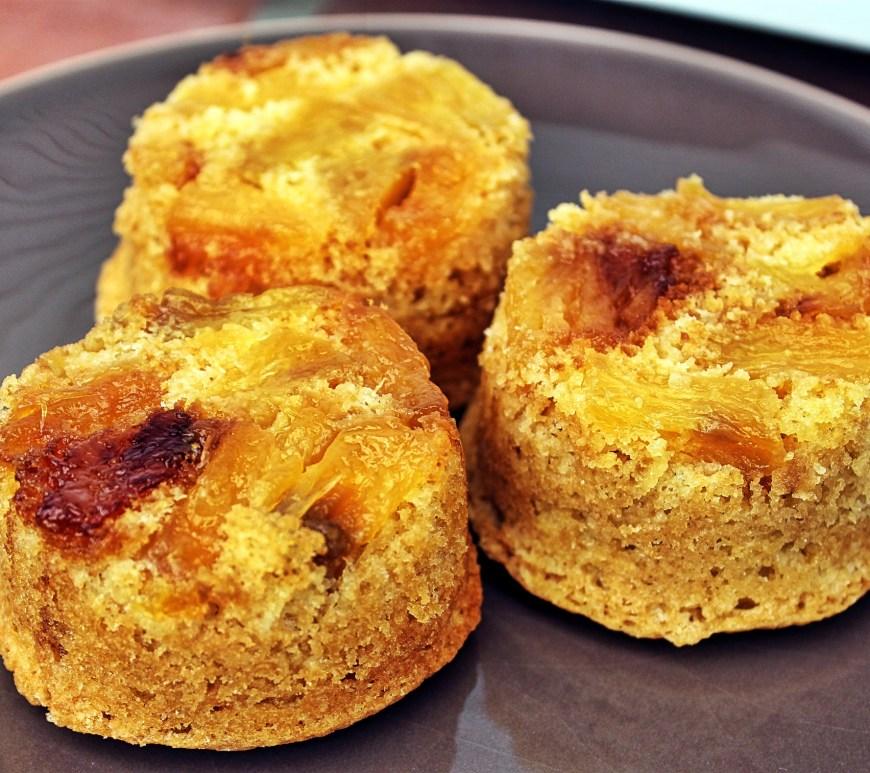 Délicimô ! - Recette Mini Gâteaux Renversés à l'Ananas - www.delicimo.fr