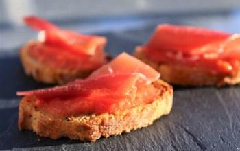 Délicimô ! - Recette Tapas Espagnol Espagne Pan con Tomate - www.delicimo.fr
