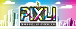Pixli est une entreprise dédiée à : Impression tous supports - Graphisme - PAO - Communication - Délicimô ! - www.delicimo.fr