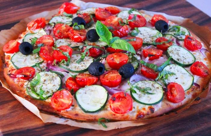 Délicimô ! - Recette de l'Authentique et Traditionnelle Pizza Jardinière de l'été – Fait Maison - Pas à pas - Etape par étape - Yannick Rolland - www.delicimo.fr