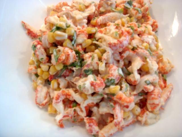 Salata de raci cu coriandru