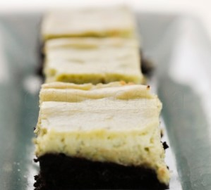 Brownies cu matcha (crema de ceai verde)