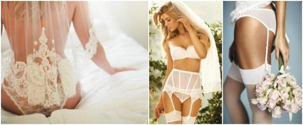 wedding trend - lenjerie