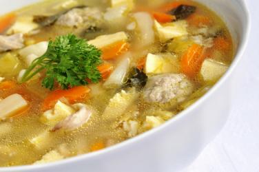 Si te gatuajme Supe me pule dhe perime