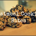 Oatmeal Chocolate Chip Cookie Bites