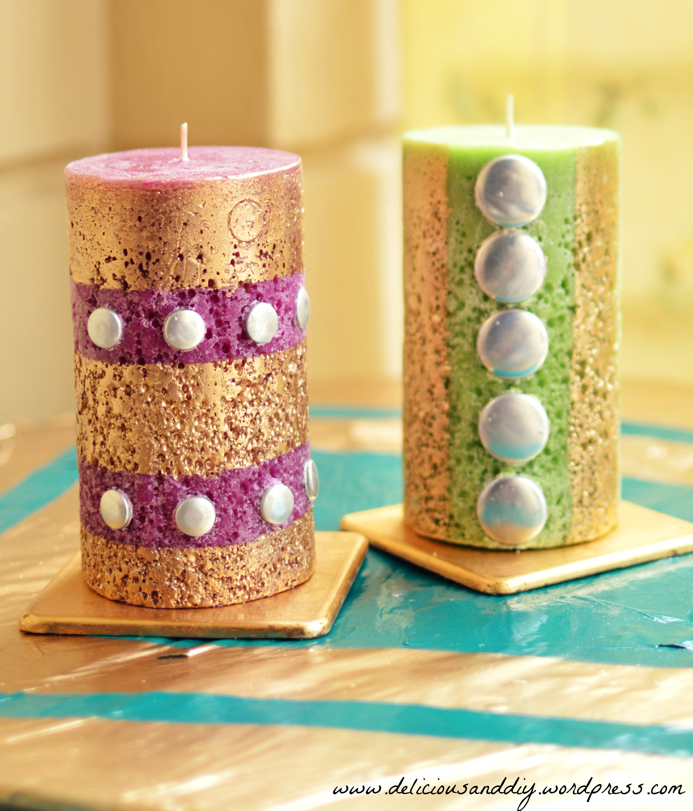 Diy Candles Diy Candle Makeover Delicious And Diy