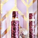 Multicolored Herringbone Wall {Using Pastel Shades}