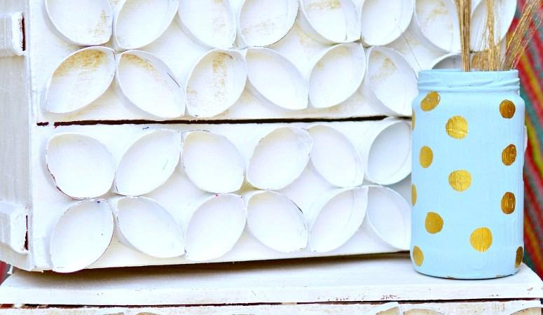 Wooden Crate Makeover {Gift Basket Idea}