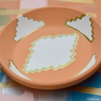 Aztec Inspired Clay Bowl Makeover